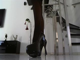 Heels, Nylon Wix-Sklave