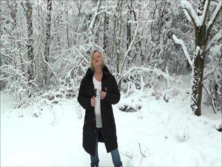 Ein geiler Winterspaziergang...