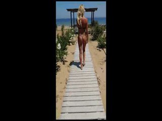 Ich gehe an den Strand:)