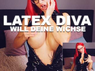 AmyStarr Prono Sex Video - LATEX DIVA will deine Wichse!