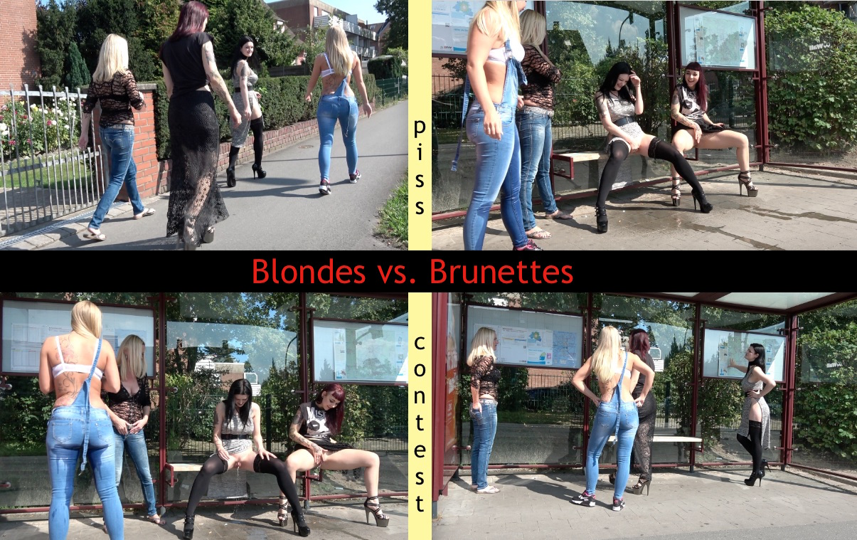 Blondes vs. Brunettes