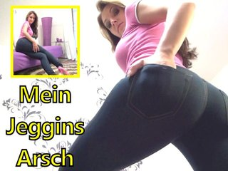 Mein Jeggins Arsch
